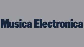 Image with the words: Music Electronica