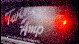 A close up shot of a fender amplifier