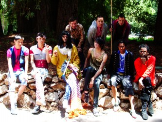 Group photo of the Criminal Queers cast