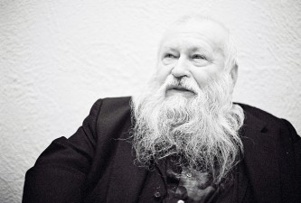 Hermann Nitsch poses for a portrait