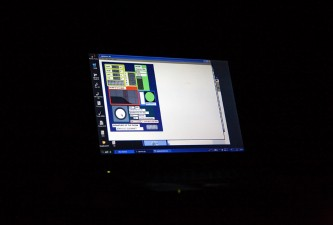 A picture of a computer screen showing a piece of music software