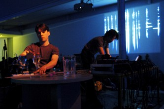 [The User] performing Silophone at KYTN 03