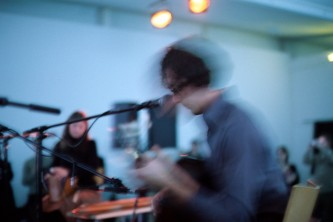 Tower Recordings during performance at DCA Dundee