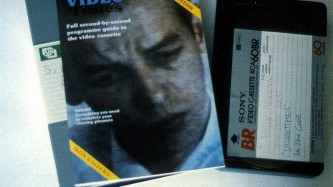 A publication called Video Times and a tape sat next to each other on table