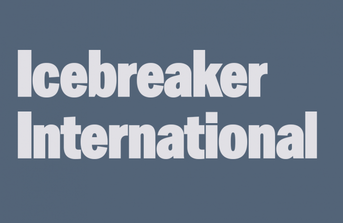 Image with the words: Icebreaker International