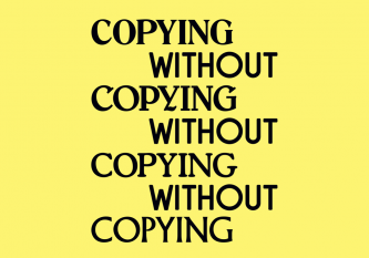 Copying without Copying Poster Graphic