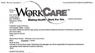 Work Care Making Health Work For You and a list of healthcare jobs