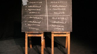 Christian Bok's blackboard diagram