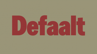 Image with the word: Defaalt