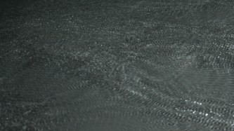 Ripples on the surface of water